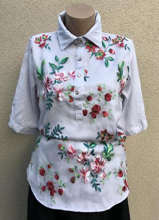 Блуза,рубашка,вышиванка,этно бохо стиль