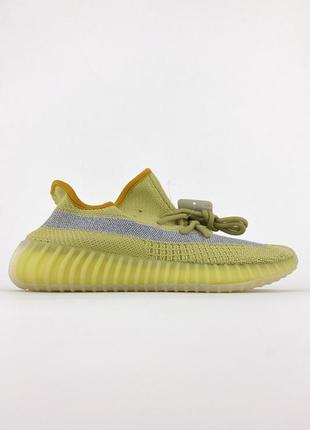 Топовые женские кроссовки демисезонные adidas yeezy v2 marsh текстильные адидас