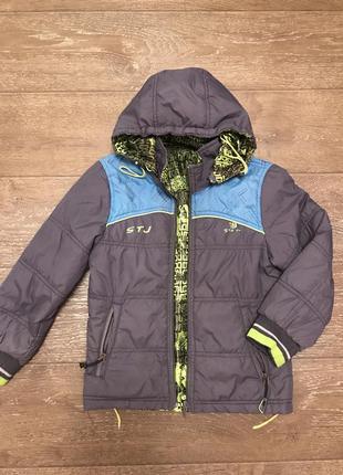 Курточка для мальчика двусторонняя