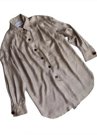 Винтажная шелковая блуза gianfranco ferre