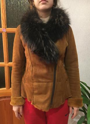 Дублянка шуба куртка