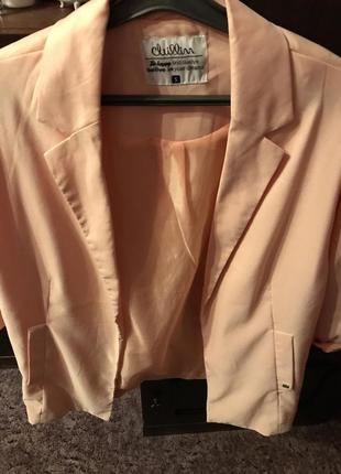 Повседневный свободный пиджак
