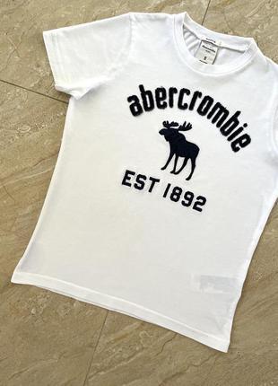 Футболка abercrombie & fitch оригинал/ футболка белая