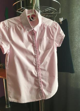 Школьная блузка gap 8-9 лет