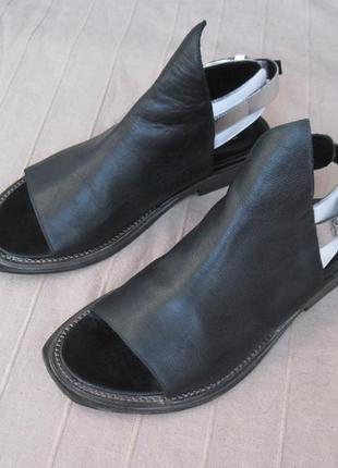 Elena iachi (38) кожаные сандалии женские