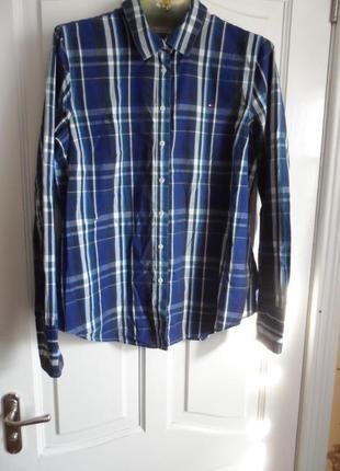 Оригинальная женская рубашка tommy hilfiger.