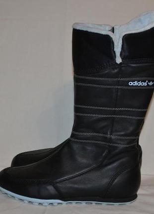 Кожаные сапоги adidas, р. 40