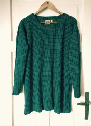 Зелена подовжена кофта-туніка next, на р. xl