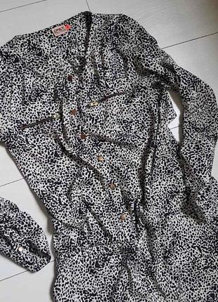 Комбинещон с штанами леопард