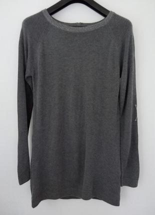 Серенькое тепленькое платье, туничка,свитерок, бренда woman by tchibo, 44,46,48 p.