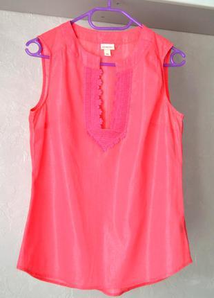Легенькая нарядная вышиванка  блузка италия