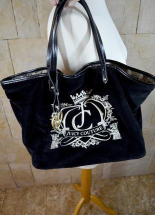 Велюровая сумка juicy couture оригинал