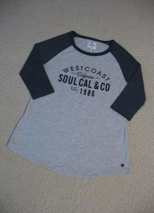 Свитшот soulcal&co с рукавом три четверти