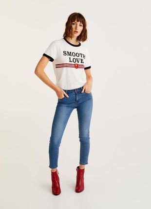 Стрейчевые джинсы -скинни pull & bear