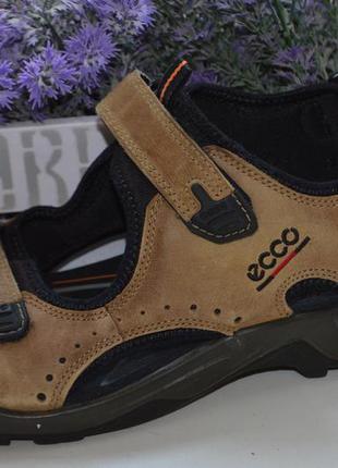 Кожаные сандали ecco р. 45 по стельке 29,5 см