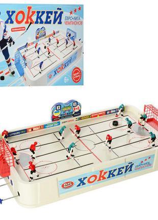 """Игра настольная  на штангах """" хоккей"""""""