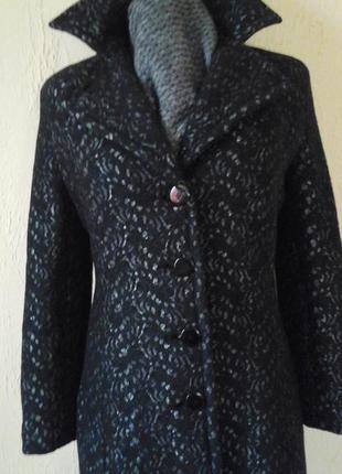 Пальто классическое шерстяное