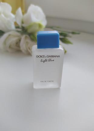 Light blue dolce&gabanna, миниатюра, туалетная вода, 4,5 мл