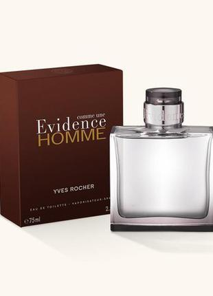 Туалетная вода comme une evidence homme
