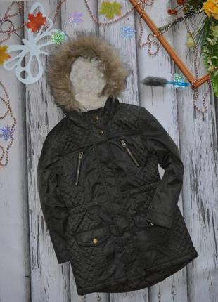 8-9 куртка парка matalan демисезон