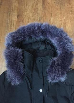Куртка -парка с мехом