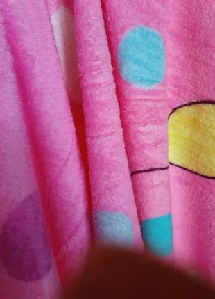 Плед тепленький із мікрофібри, покривало дитяче