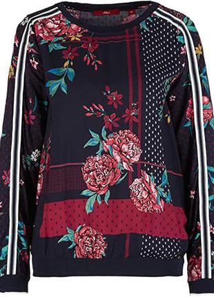 Свитшот блуза с лампасами натуральная вискоза р. 54