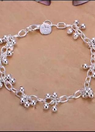 Красивый браслет серебро/стерлинг