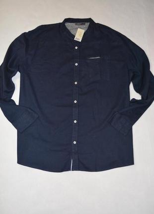 Рубашка льняная мужская больших размеров 68-70 livergy германия