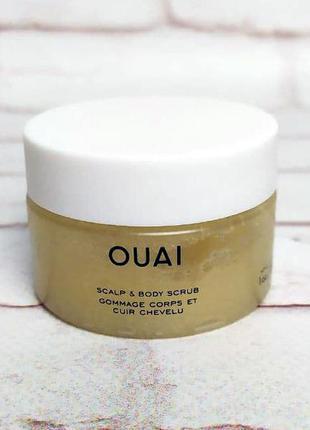 Освежающий скраб для кожи головы оuai scаlp and bоdy sсrub 30 гр