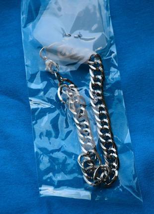 Красивый утонченный браслет цепочка на руку под серебро белое золото с очень красивым плетением