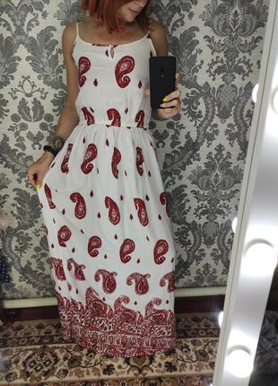 Сарафан, платье миди, длинное платье