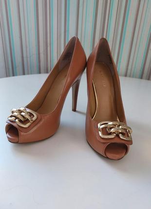 Туфли с открытым носком, nine west 7m