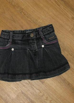 Джинсовая юбка на 4 года