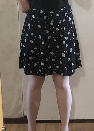 Милая юбка с ромашками