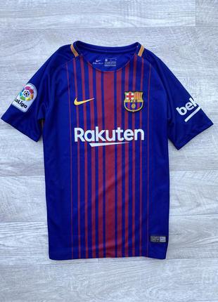 Nike barcelona футболка оригинал 10 лет 12  детская барса