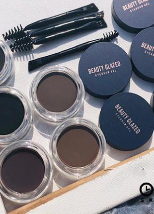 💁♥️ #05 водостойкий гель для бровей beauty glazed waterproof eyebrow gel