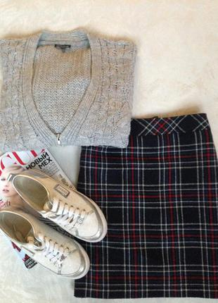 Симпатичная теплая юбка и много брендовых вещей дешево!