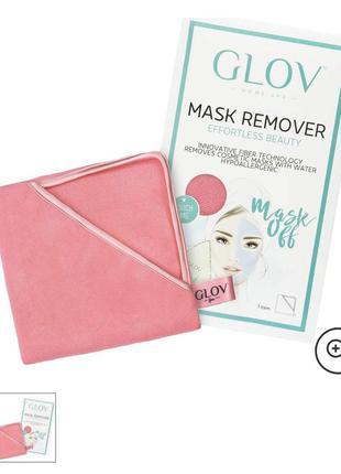 Салфетка для удаления масок с лица glov mask remover