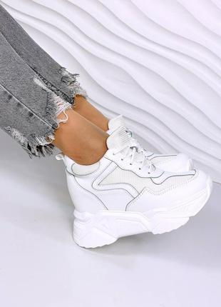 Сникерсы женские 13632 кроссовки снікерси жіночі кросівки