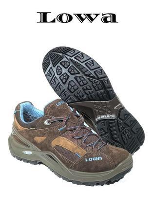 Кожаные женские кроссовки ботинки lowa sirkos gtx gore-tex оригинал