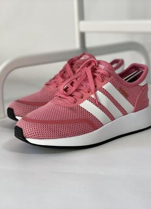 Фирменные розовые женские кроссовки adidas n-5923