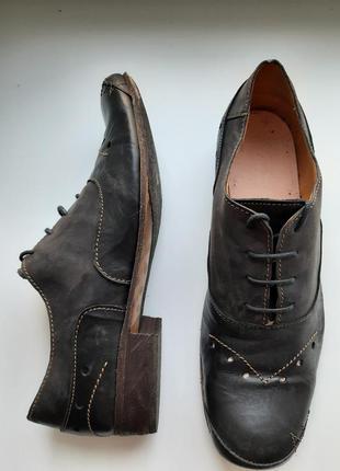 Кожаные туфли германия