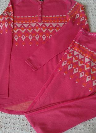 Термобілизна з мериносової вовни комплект термо реглан штани термобелье шерсть мериноса леггинсы шерстяные штаны кофта