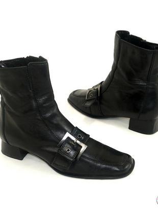 Ботинки 39 р tamaris германия кожа оригинал демисезон