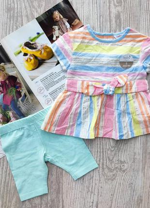 Комплект туника и шорты