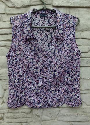 Легкая блуза в цветах alexon