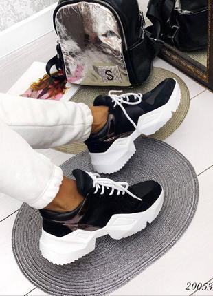 💥 кожаные кроссовки