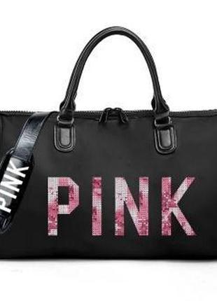 Сумка victoria's secret pink