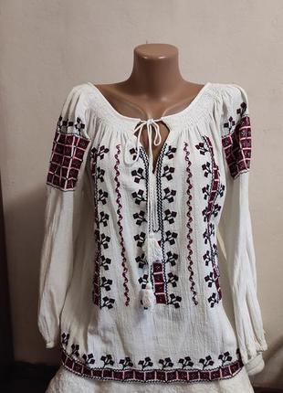 Льняная вышиванка, рубашка, лён /льняна вишита сорочка, вишиванка, льон